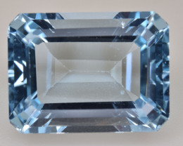 Natural Blue Topaz14.37 Cts Top Quality Gemstone
