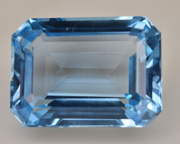 Natural Blue Topaz 14.40 Cts Top Quality Gemstone