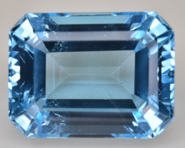 Natural Blue Topaz  14.71 Cts Top Quality Gemstone