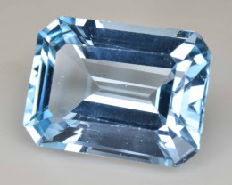 Natural Blue Topaz  14.46 Cts Top Quality Gemstone