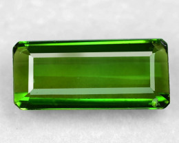 4.08 Cts Un Heated Green Color Natural Tourmaline Loose Gemstone