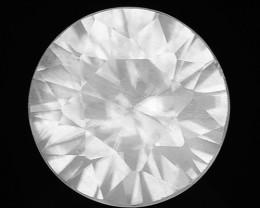 1.28 Cts White Zircon Natural Loose Gemstone