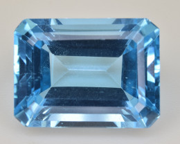 Natural Blue Topaz  14.61 Cts Top Quality Gemstone