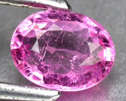0.73 Cts Un Heated Pink Color Natural Tourmaline Loose Gemstone