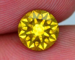AAA Grade 1.28 ct Yellow Diamond SKU-24