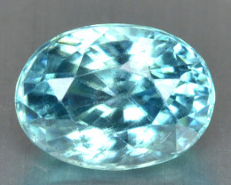 1.42 Cts Blue Zircon Natural Loose Gemstone