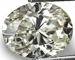 """South Africa Fancy Color Diamond, 0.74 Carats, M (On a Scale of """"D"""" to """"Z"""")"""