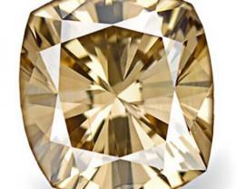 Australia Fancy Color Diamond, 0.37 Carats, Fancy Intense Brown Cushion