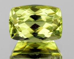 6x4.5 mm Cushion 0.90ct Golden Green Diaspore [VVS]