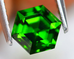 Chrome Diopside 1.10Ct Natural VVS Russian Chrome Diopside B2304