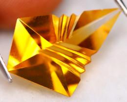 Golden Citrine 6.83Ct Natural Designer Cutting Golden Citrine B2313