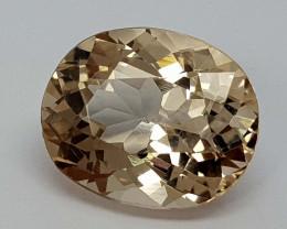 5.85Crt Natural Topaz Natural Gemstones JI6