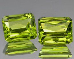 Natural Peridot Matched Pair 8.40 Cts, Pakistan