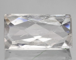 5.72 Cts White Kunzite color Loose Gemstone