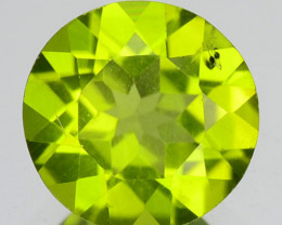 1.06 Cts Rare Fancy Green Natural Peridot Gemstone