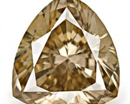 Australia Fancy Color Diamond, 0.48 Carats, Fancy Brown Trilliant