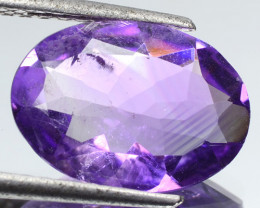 3.80 Cts Amazing Rare Purple Amethyst Loose Gemstone