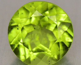 1.54 Cts Amazing Rare Fancy Green Natural Peridot Gemstone