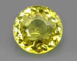 8.35 CTS INVESTMENT GEM - VIP APATITE - NICE YELLOW EXCLUSIVE BRAZIL~