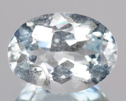 1.02 Blue Color Natural Aquamarine Loose Gemstone