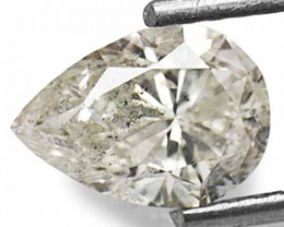 """Guinea Diamond, 1.11 Carats, J (On a Scale of """"D"""" to """"Z"""") Pear"""