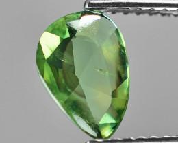 1.07 Cts Amazing Rare Natural  Fancy Green Ceylon Sapphire Loose Gemstone