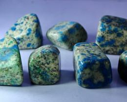 1254.20 CT Natural - Unheated Blue K2nite Tumble Lot