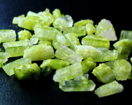 113.10 Cts Natural & Unheated Green Tourmaline Rough lot