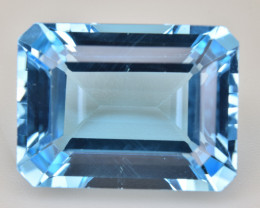 Natural Blue Topaz 14.78 Cts Top Quality Gemstone
