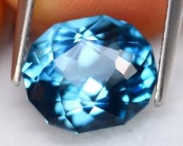 London Blue Topaz 4.63Ct Natural Master Cut London Blue Topaz C2305
