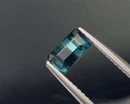 ''NO RESERE'' Top Quality Natural Indicolite Color Tourmaline 1.06 Cts.