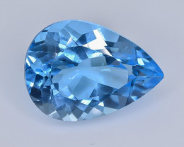 15.94 Crt Natural Topaz  Faceted Gemstone.( AB 53)