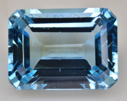 Natural Blue Topaz  14.84 Cts Top Quality Gemstone