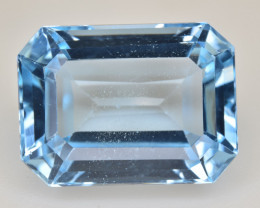 Natural Blue Topaz  14.86 Cts Top Quality Gemstone
