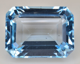 Natural Blue Topaz 14.93 Cts Top Quality Gemstone