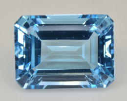 Natural Blue Topaz  15.01 Cts Top Quality Gemstone