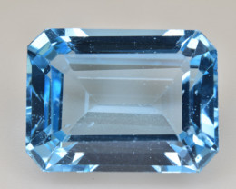 Natural Blue Topaz  15.19 Cts Top Quality Gemstone