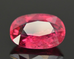 Attractive Color 2.45 ct Natural Rubelite Tourmaline. RA