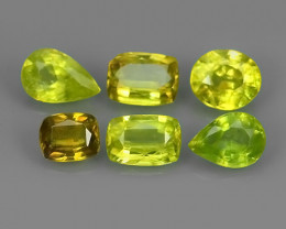 3.15 CTS~EXCELLENT NATURAL GREENISH~YELLOW SPHENE NR!!