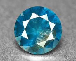 0.40 Cts Sparkling Rare Fancy Intense Blue Color Natural Loose Diamond