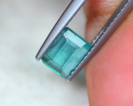 1.15Ct Natural Greenish Tourmaline Octagon Cut Lot LZB551
