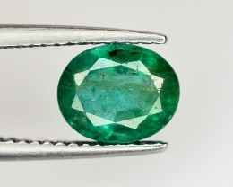 1.85 Ct Brilliant Color Natural Zambian Emerald