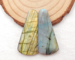 46.5cts  Labradorite Earrings gemstone earrings beads, stone for earring G6