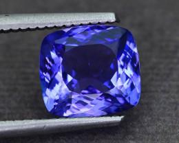AAA Grade 2.94 ct Tanzanite eye catching Color SKU.25