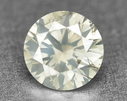 0.12 Cts Untreated Natural Fancy Yellowish Grey Color Loose Diamond