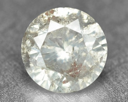 0.22 Cts Untreated Natural Fancy Yellowish Grey Color Loose Diamond