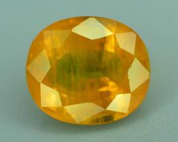 Top Clarity & Color 2.15 ct Rarest Yellow Sapphire~Sri Lanka