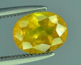 Top Clarity & Color 1.65 ct Rarest Yellow Sapphire~Sri Lanka