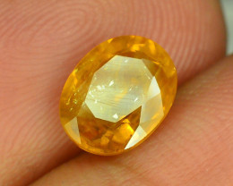 Top Clarity & Color 2.00 ct Rarest Yellow Sapphire~Sri Lanka