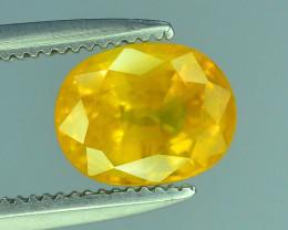 Top Clarity & Color 1.55 ct Rarest Yellow Sapphire~Sri Lanka